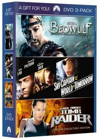 Beowulf/Sky Captain and the World of Tomorrow/Lara Croft: Tomb Raider
