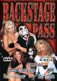Backstage Pass: Insane Clown Posse/Limp Bizkit/Jonathan Davis of Korn