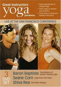 Yoga Journal: Great Instructors (Baron Baptiste, Shiva Rea, Seane Corn)