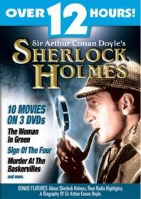 Sir Arthur Conan Doyle's Sherlock Holmes - 10 Movies