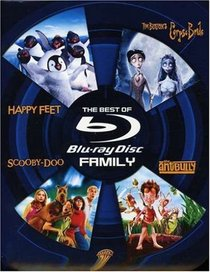 The Best of Blu-ray - Family (Happy Feet / Tim Burton's Corpse Bride / Scooby-Doo / The Ant Bully)