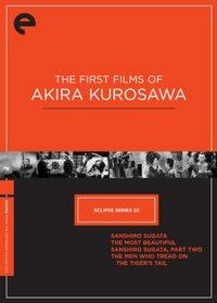 Eclipse Series 23: The First Films of Akira Kurosawa (The Criterion Collection) (Sanshiro Sugata / The Most Beautiful / Sanshiro Sugata, Part Two / The Men Who Tread on the Tiger's Tail)