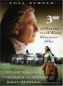 Sally Hemings: An American Scandal/Gore Vidal's: Lincoln/Jackie, Ethel, Joan: The Women of Camelot