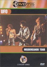 UFO - Misdemeanor Tour