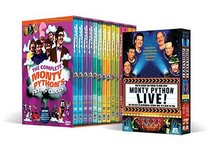 The Complete Monty Python's Flying Circus Megaset with Bonus Monty Python Live