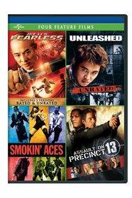 Jet Li's Fearless / Unleashed / Smokin' Aces / Assault on Precinct 13 Four Feature Films
