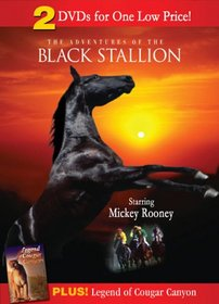 The Adventures of the Black Stallion (1990)/ Legend of Cougar Canyon (The Secret of Navajo Cave) (1976)