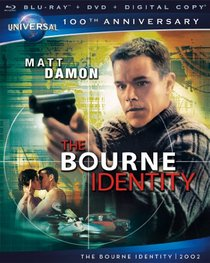 The Bourne Identity [Blu-ray + DVD + Digital Copy] (Universal's 100th Anniversary)