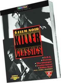 5 Film Noir Killer Classics (D.O.A./Detour/The Stranger/Scarlet Street/Killer Bait)