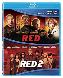 Red/Red 2 Double Feature [DVD] [Blu-ray]