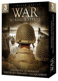 War-Heroic Battles Gift Box (Bridge at Remagen/Devil's Brigade/633 Squadron