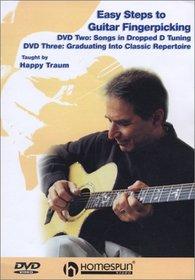 Easy Steps to Guitary Fingerpicking, Vol. 2 & 3