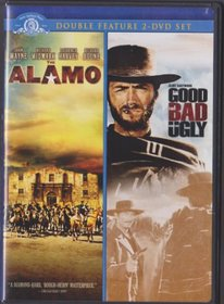 Double Feature 2-DVD Set -The Alamo & The Good The Bad and The Ugly