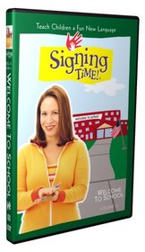 Signing Time Volume 13: Welcome to School DVD