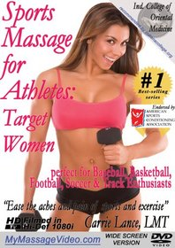Sports Massage for Athletes: Target - Womenperfect for Baseball, Basketball, Football, Soccer & Track Enthusiasts