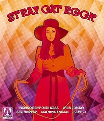 Stray Cat Rock (5-Disc Limited Edition Box Set feat. Delinquent Girl Boss, Wild Jumbo, Sex Hunter, Machine Animal & Beat '71) [Blu-ray + DVD]