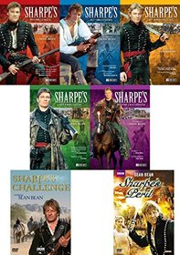 Sharpe Complete Collection Volumes 1-5 with Sharpe's Challenge & Sharpe's Peril 18-DVD Bundle