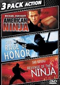 American Ninja/Revenge Of Ninja/Rage Of Honor