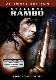 Rambo Trilogy (Ultimate Edition DVD Collection) (3-Disc Collector Set) - (First Blood/Rambo: First Blood Part II/Rambo III)