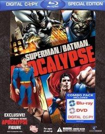 Superman/Batman: Apocalypse (Special Edition with Collectible Superman Figure) [Blu-ray + DVD + Digital Copy]