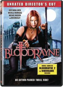 Bloodrayne (Unrated Director's Cut)(DVD ROM game is included)