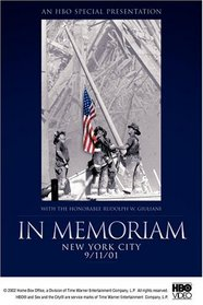 In Memoriam - New York City, 9/11/01