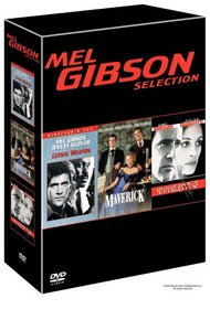 Mel Gibson Selection: Lethal Weapon/Maverick/Conspiracy Theory