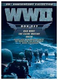 WW II 60th Anniversary Collection (Das Boot/Anzio/Caine Mutiny/Dead Men's Secrets) (Includes Collectible Scrapbook)