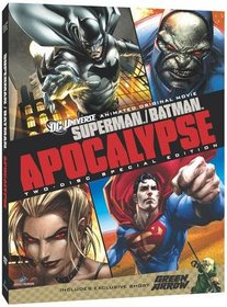 Superman/Batman: Apocalypse (Deluxe 2-Disc DVD Edition with Bonus Episodes)
