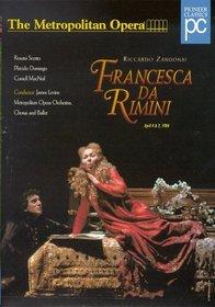 Zandonai - Francesca Da Rimini / James Levine, The Metropolitan Opera