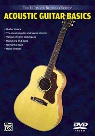 Ultimate Beginner Series - Acoustic Guitar Basics