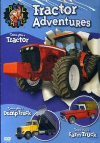 REAL WHEELS:TRACTOR ADVENTURES - Format: [DVD Movi