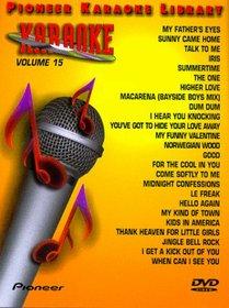 Karaoke / 25 Song Karaoke Library 15