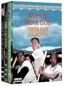 When It Was a Game - Triple Play Collection