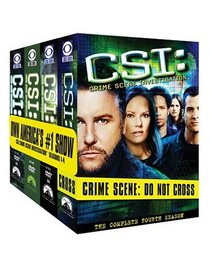 C.S.I. Crime Scene Investigation - The Complete First Four Seasons