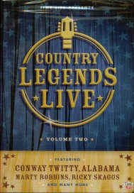 Country Legends Live: Volume 2