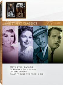 Classic Quad: Set 15 (Move Over, Darling / O. Henry's Full House / On the Riviera / Rally 'Round the Flag, Boys!)