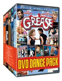 DVD Dance Pack Collection (Grease Rockin' Rydell Edition / Saturday Night Fever / Footloose / Flashdance / Urban Cowboy)