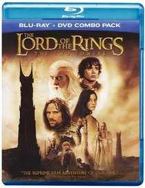 The Lord of the Rings: The Two Towers (Blu-ray + DVD Combo Pack)