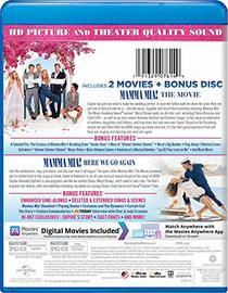 Mamma Mia! 2-Movie Collection [Blu-ray]