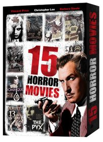 15 Classic Horror Movies (Gift Box)