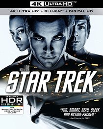 Star Trek (4k Ultra HD + Blu-Ray + Digital HD)
