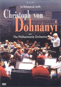 In Rehearsal with Christoph von Dohnanyi (Haydn Symphony No. 88)