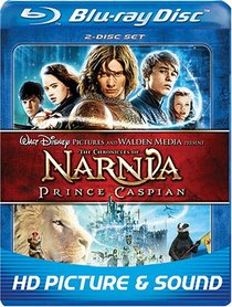 The Chronicles of Narnia: Prince Caspian (Two Disc and BD Live)  [Blu-ray]