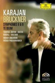 Bruckner: Symphonies Nos. 8 & 9; Te Deum [DVD Video]