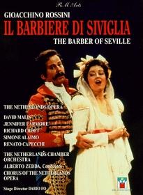 Rossini - Il barbiere di Siviglia (The Barber of Seville) / Dario Fo, Zedda, Larmore, Croft, Netherlands Opera