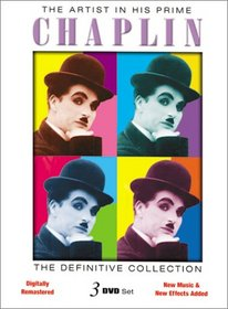The Artist In His Prime - 3 DVD Set - Starring Charlie Chaplin