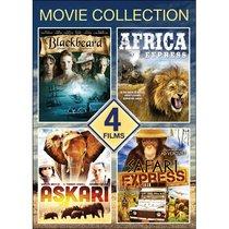 4-Movie Adventure Collection: Blackbeard / Africa Express / Safari Express / Askari