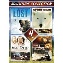 4-Film Adventure Collection V.1: Sign of the Otter / Simon and the Spirit Bear / Lost in the Barrens / Tom Alone