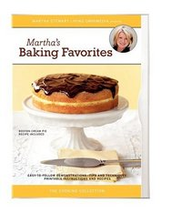 The Martha Stewart Cooking Collection - Martha's Baking Favorites